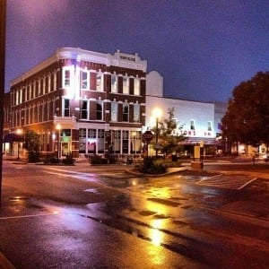 steve gunter picture of bentonville square