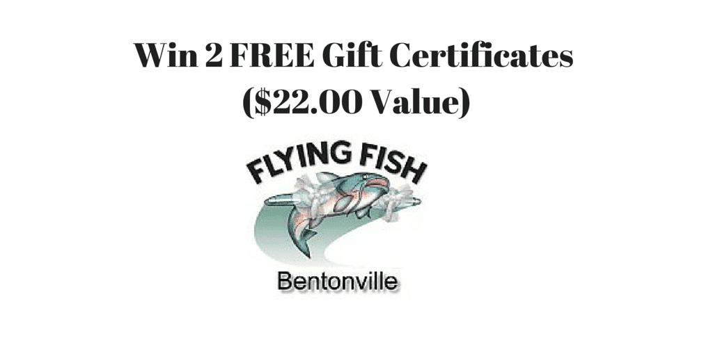 Win 2 FREE Gift Certificates for Flying Fish