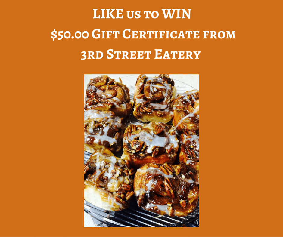 3rd Street Eatery Giveaway
