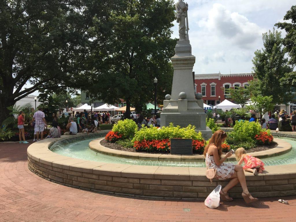 Bentonville Fountain