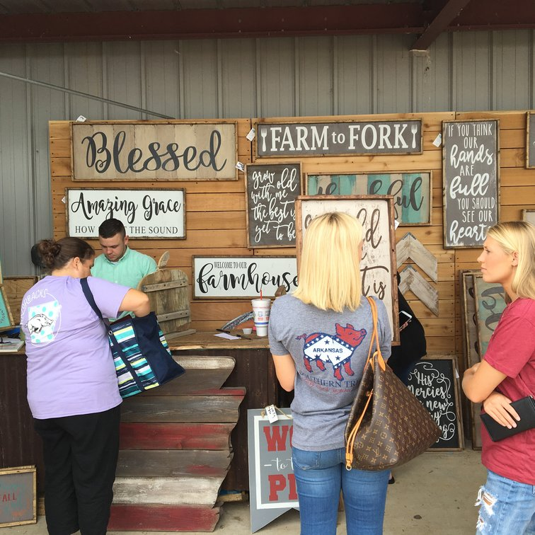 Crafts Fair Weekend In Northwest Arkansas Spawns a Shopping Extravaganza