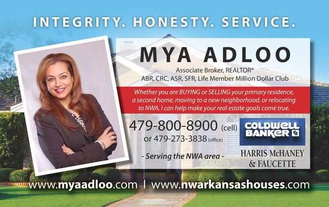 Mya Adloo Real Estate Agent for Northwest Arkansas