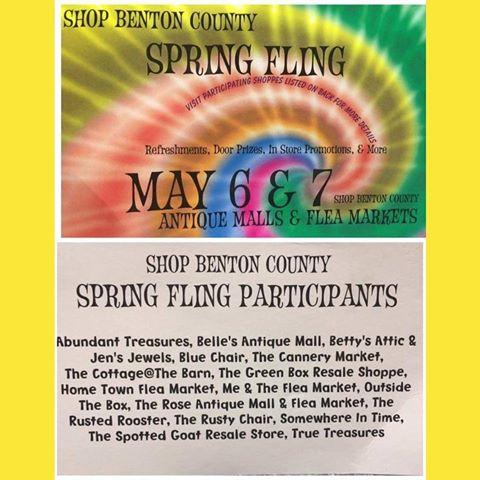 Spring Fling & Spring Arts & Crafts in Northwest Arkansas 2017
