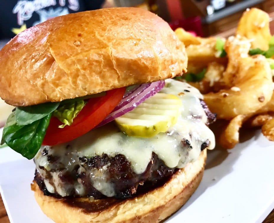 Rockin Pig Saloon Burger Eureka Springs