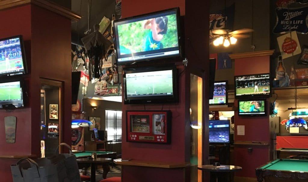 On the MARK Sports Bar