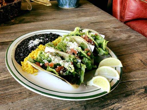 Table Mesa Tacos Bentonville Arkansas