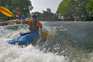 Siloam Springs Kayak Park Illinois River