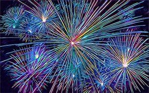 Fireworks in Rogers Arkansas