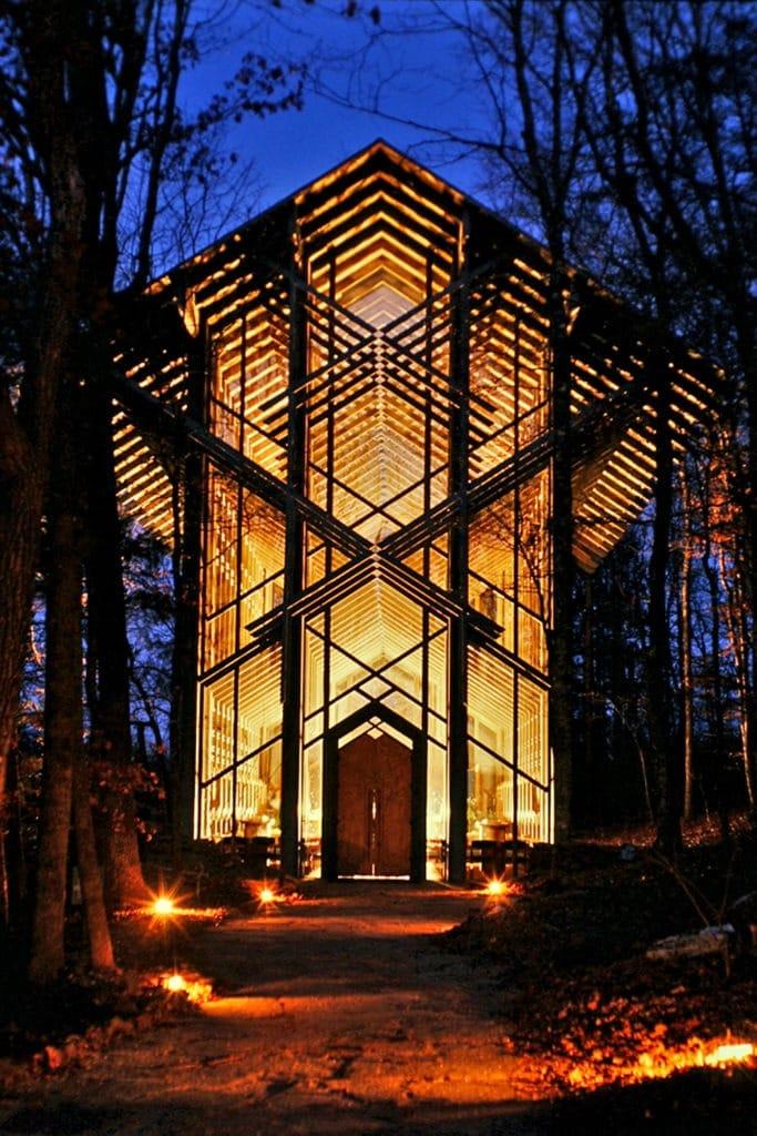 Thorncrown Chapel in Eureka Springs Ar