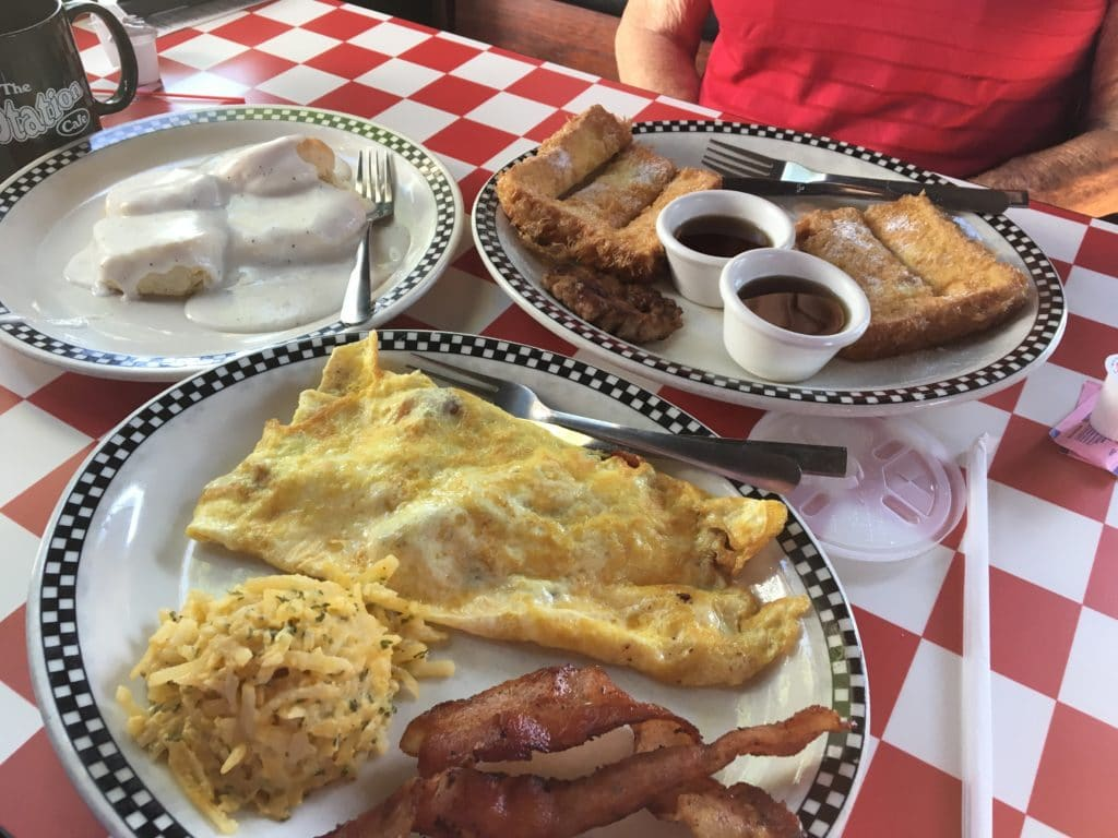 Station Cafe Bentonville Ar Breakfast