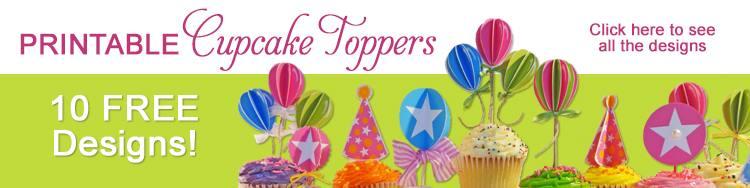 Cupcake Toppers DIY