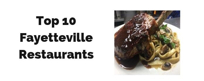 Top Fayetteville Ar Restaurants