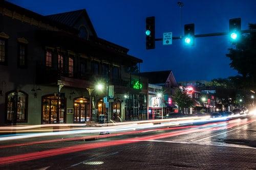Dickson Street in Fayetteville ar