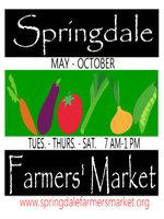 Springdale Farmer's Market Sponsor