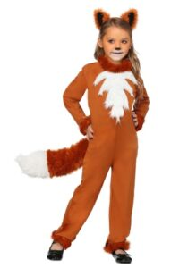 girls sly fox costume
