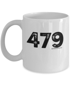 479 northwest arkansas white mug