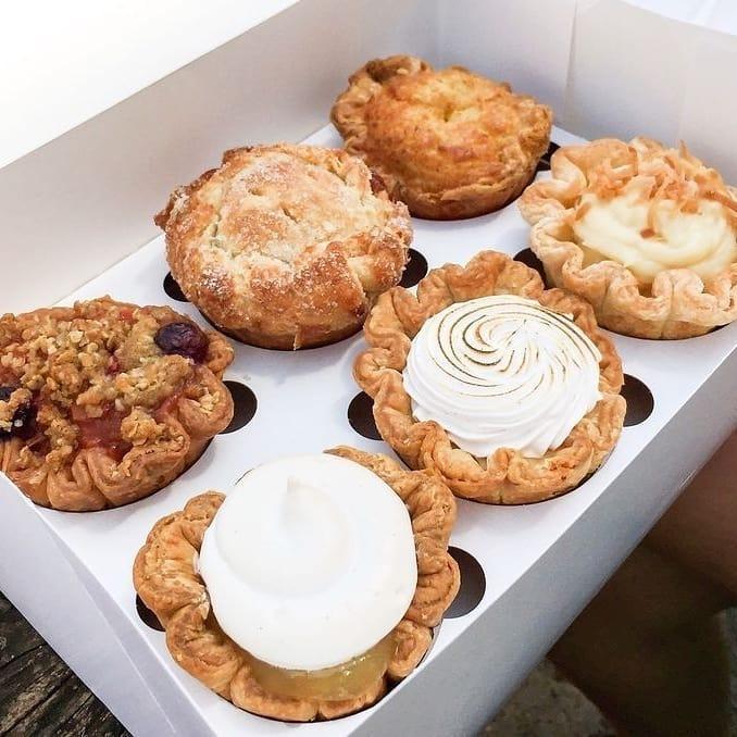 The Farmhouse Pie Shop Eureka Springs pies