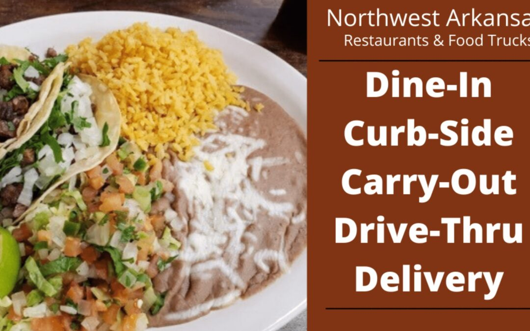 Restaurants Open in Northwest Arkansas – Updated Daily