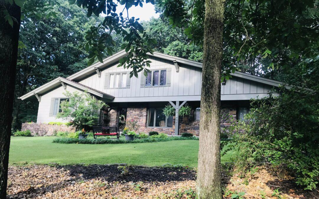 Natural Native Airbnb Vacation Rental Bentonville Arkansas